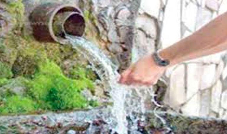 مياه الينابيع