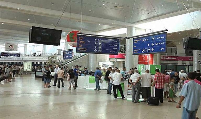 نتيجة بحث الصور عن توقيف شخص   مطار هواري بومدين الدولي